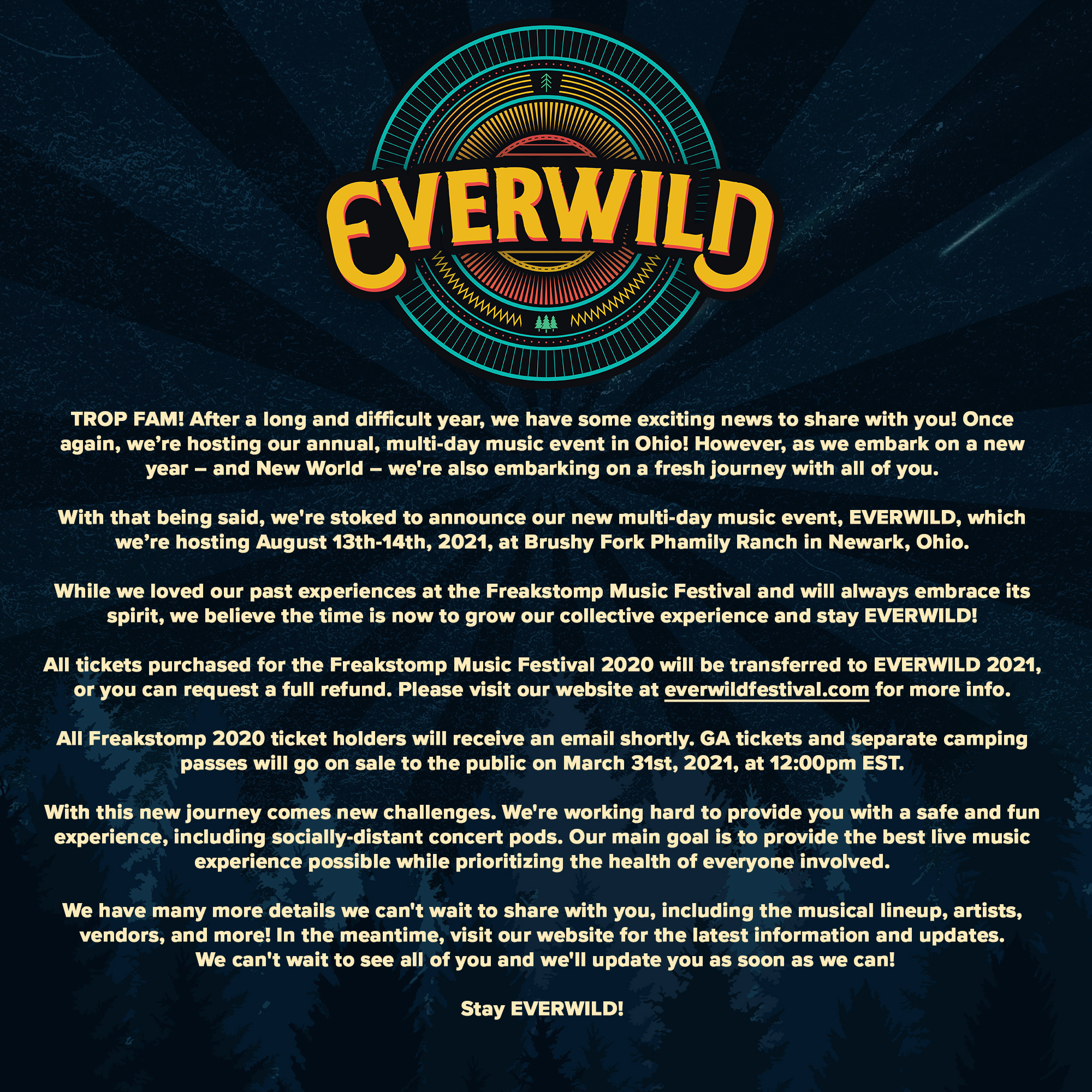 EVERWILD Announcement Image